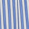 Baumwollrock Stripes light grey persian jewel Louverot