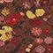 Wickelbluse aus Seide mit Flowerprint Print eden tortoiseshell Mirebeau