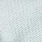Breiter, grob gestrickter Schal Weiß Glas