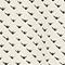 Gemusterter ausgestellter Minirock Birdy ivoire Pitite