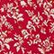 Bedrucktes fließendes Oberteil Indienne red Papiche