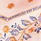 Seidentuch in Rautenform Seashell pink Nandana