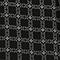 Oberteil aus bedruckter Seide Check black Pabus
